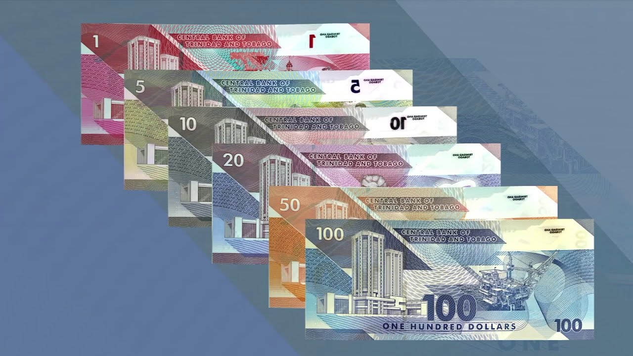Introduction of the Polymer 1 and 50 dollar Banknotes | Central Bank of  Trinidad and Tobago